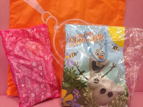 【2015福袋特集】これで最後!『KIDDY LAND(キデイランド)』でまだ買える福袋2つの中身を公開 / ステーショナリー(1000円)とアナ雪(2000円)