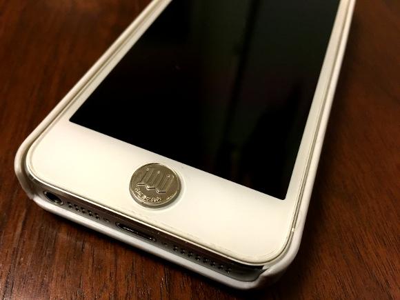 iPhoneホームボタン専用シールCOZENI(コゼニ)の存在感がハンパない / 様々な使い道があることも判明