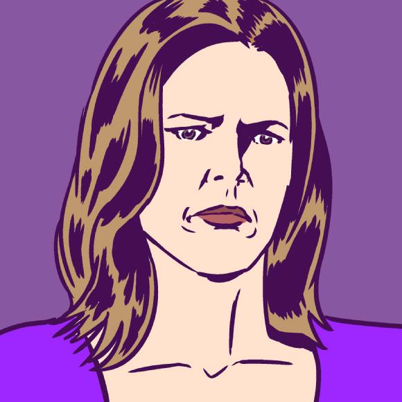 """【海外ドラマ】『ブレイキング・バッド』""""マリー"""" の素顔に迫る!! 本人もスプーンを持ち帰るのが趣味 / 紫は好みの色じゃない"""