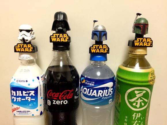 【ガチャガチャ】ファン必携! 「スターウォーズ・ボトルキャップコレクション」は4種類揃えて使い分けすべし!!