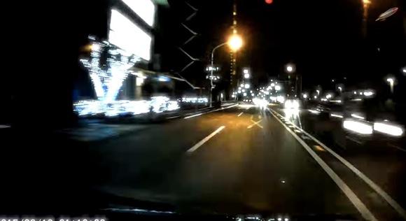 【F-ZERO】ドラレコの「走行シーン」だけをつなげて8倍速あたりにして編集すると近未来レースゲーみたいな映像になってカッコイイ