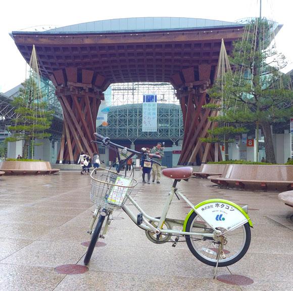 【保存版】金沢旅行の移動は断然レンタサイクルがオススメ! 1日200円で主要な観光地をめぐる方法