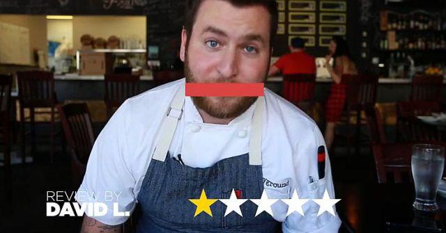 有名シェフに「口コミサイトのユーザーが付けた1つ星コメント」を読んでもらったらこうなった!! 料理をけなされたことがある人は納得しちゃうハズ!