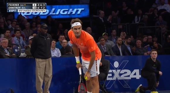 【衝撃テニス動画】フェデラー相手に勝利を収めた少年が話題
