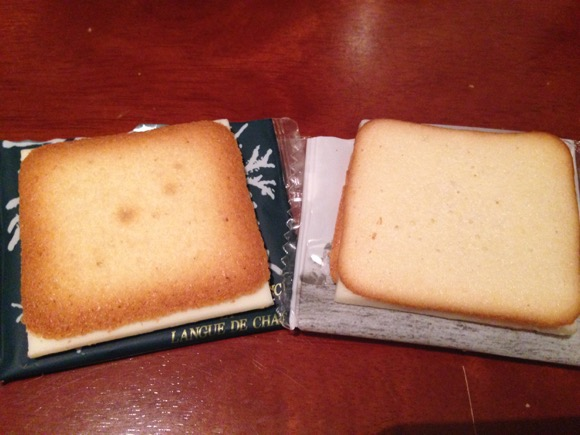 【オススメ新潟土産】『安田牛乳ラングドシャ』が 北海道銘菓『白い恋人』に匹敵する美味しさでビックリ! 2つを食べ比べたレビュー付きで報告!