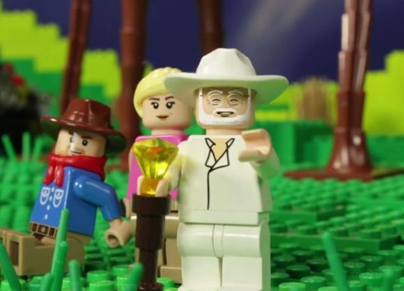 【映画ファン必見】『ジュラシック・パーク』を約1200万円かけてレゴで再現したらこうなった