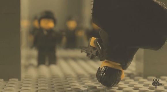 【動画あり】ビックリするほどの高クオリティー! 映画『マトリックス』をレゴで再現した動画がスゴすぎる!!