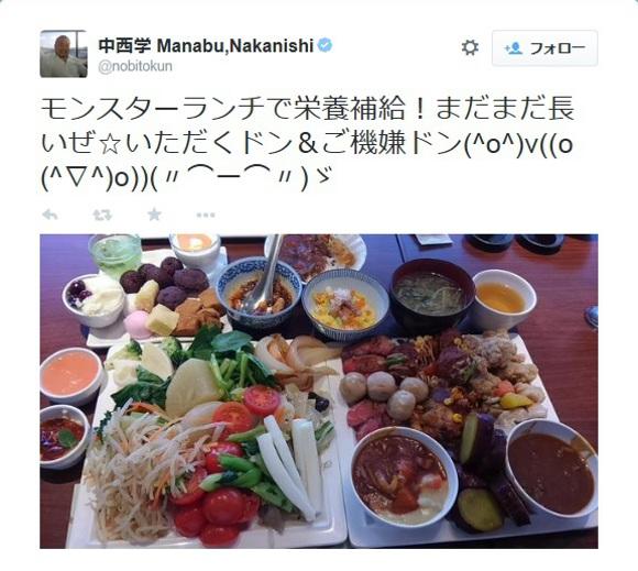 【エイプリルフールじゃない】プロレスラー「中西学」の食欲がマジで野人レベル / おそらく世界一大食いな48歳