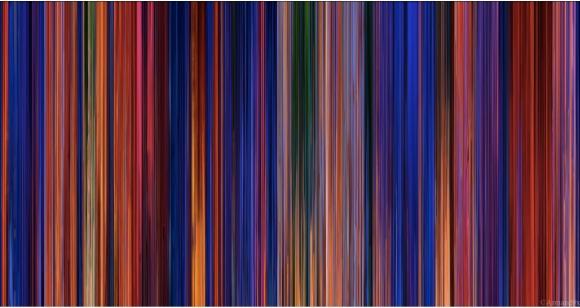 """ディズニー映画をギュッと凝縮! 『アラジン』『リトル・マーメイド』…… 各作品で """"色の傾向"""" がこんなにも違うだなんて!"""
