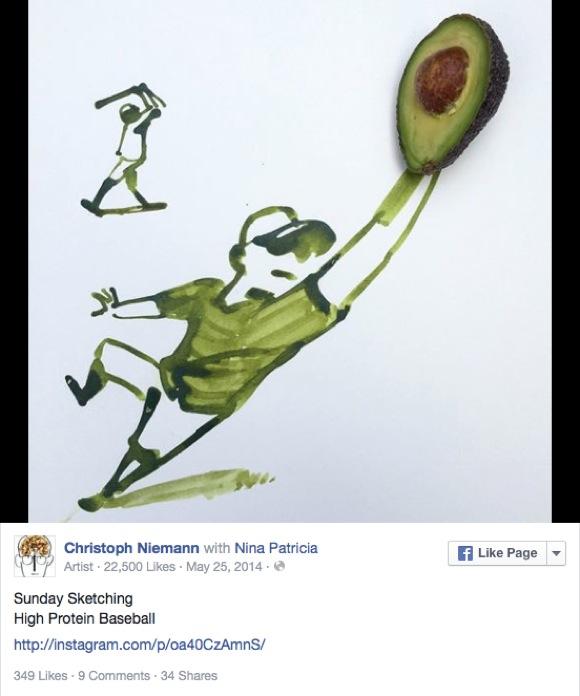 バナナにアボカド……日常にあふれる物でこんなアートが出来ました! 雑誌『New Yorker』の表紙を手がけるアーティスト作品にアイディアいっぱい