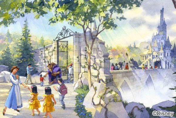東京ディズニーシーに『アナ雪』エリアがクルー!! ランドには『美女と野獣』『ふしぎの国のアリス』とのプランを発表!