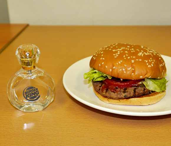 ウソじゃない! バーガーキングが「直火焼パティ」の香水を本当に発売!! めっちゃイイ匂いで猛烈にクセになるッ!!