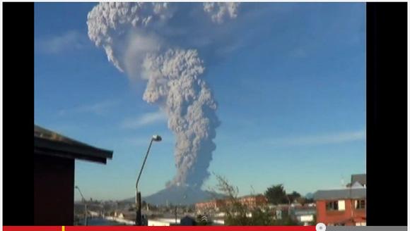 チリ・カルブコ火山噴火の様子に戦慄 / 現地から続々と動画・画像が投稿される