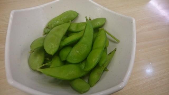 【高級茶豆使用】スシローの『枝豆』がハンパじゃなく美味 / 枝豆とポテトだけ食いに行くレベル