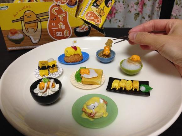 【オトナ買い注意報】ミニチュアフィギュア「ぐでたまな一皿(ひとさら)」のユルさがたまらない / コンプしたくなるクオリティ