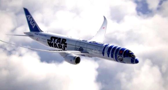 【動画あり】スターウォーズ「R2-D2」が飛行機になった