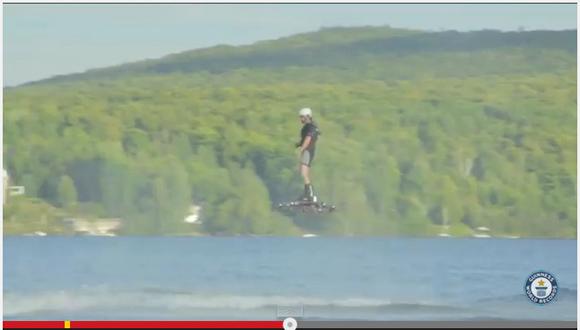 カナダ人発明家が開発した「ホバーボード」が275メートル飛行し世界記録! 実用化の夢が膨らむ!!