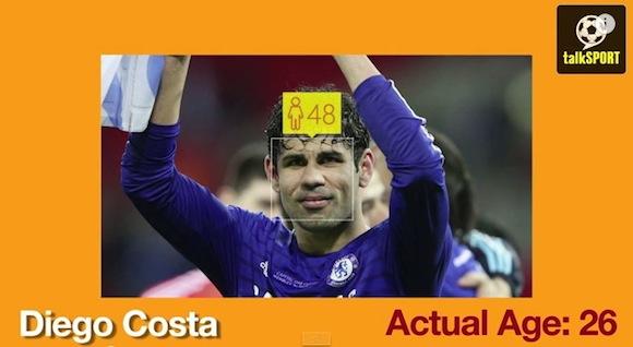 【動画あり】サッカー選手は老けて見える!? 「推定顔年齢」が表示されるサイトで出た驚きの診断結果