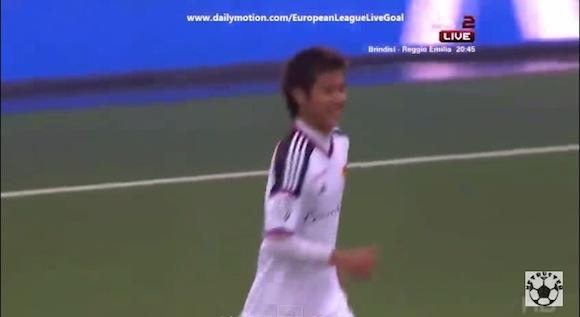 【衝撃サッカー動画】スイスのバーゼルに所属する柿谷曜一朗選手が天才的なタッチから芸術ゴール!!