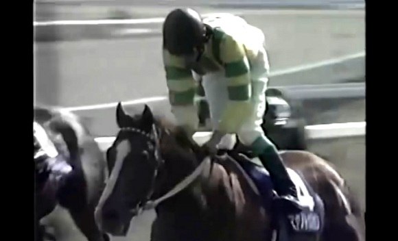 【衝撃競馬動画】1997年天皇賞(春)『マヤノトップガン』伝説のラスト200メートル