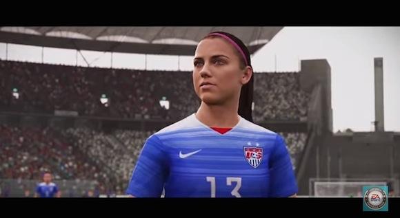 【動画あり】新時代が到来! 女子サッカーを搭載したゲームが発売決定!!