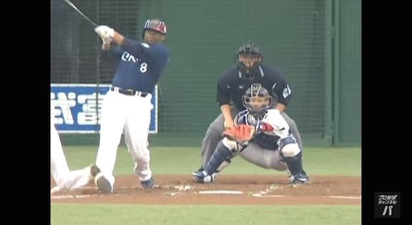 【衝撃野球動画】日本球界に電撃復帰! 引退した年にタフィ・ローズの放ったホームランが今見ても豪快すぎる