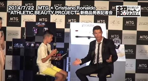 【動画あり】日本で「男気」を見せたクリスティアーノ・ロナウドがカッコイイと海外で話題