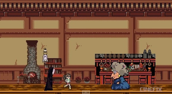 ジブリ映画『千と千尋の神隠し』がゲーム化!? ファミコン風に再現された動画が海外で作成される