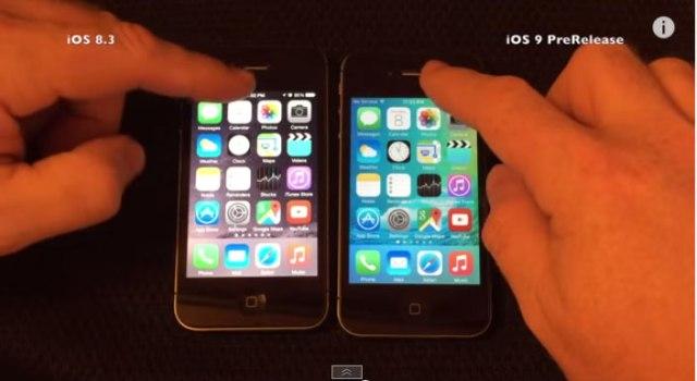 iPhone4Sに最新版「iOS9」を入れたらこうなったって動画