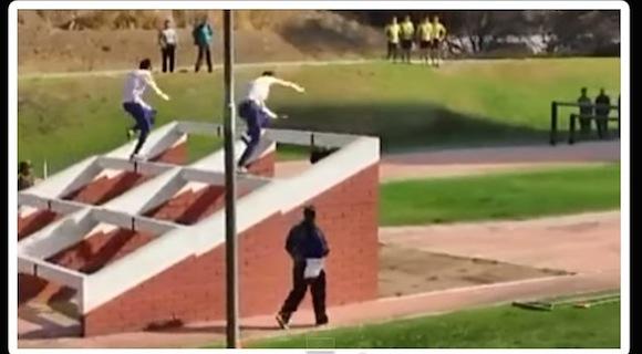 【衝撃動画】まるで忍者のような動き! チリ軍隊の障害物競走がハイレベルすぎる!!
