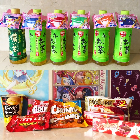 【ミニストップ×セーラームーン】急げ〜! 今なら対象商品2つ購入でクリアファイル /「お〜いお茶」にはペットボトルカバーが付いてクルー!!