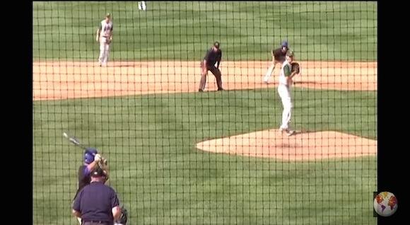 【衝撃野球動画】野球少年必見! 高確率で成功する「隠し球」がまたしても海外で炸裂!!