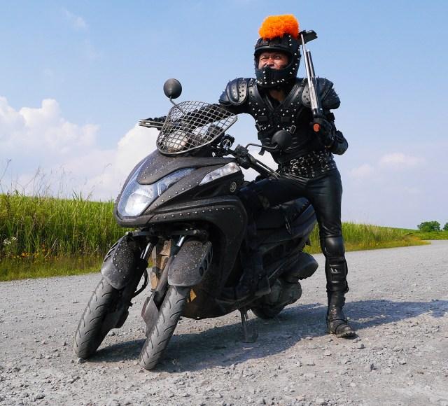 ヤマハの3輪バイク「トリシティ125」をマッドマックス風にカスタムしてみた!