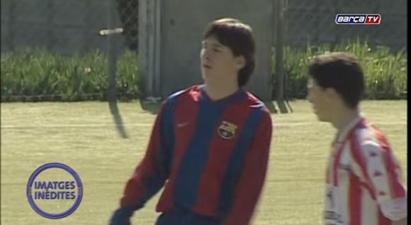 【超レア】リオネル・メッシ選手(14歳)のプレー映像がネットで公開されて大反響