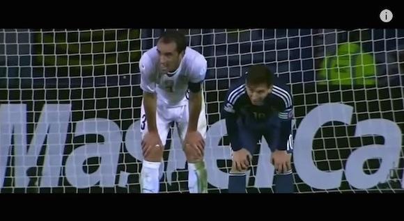 【動画あり】サッカーの試合でシンクロ率100%の選手が激撮される