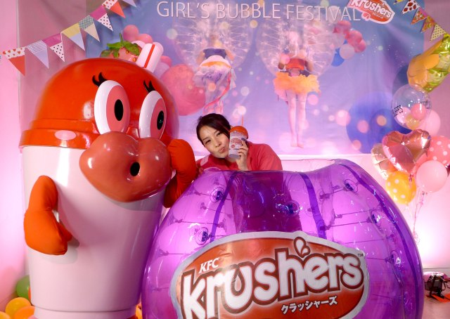 【国内初】女子だけのバブルサッカー大会って何!? 気になったので『KFCクラッシャーズ プレゼンツ GIRL'S BUBBLE FESTIVAL』に潜入してみた!