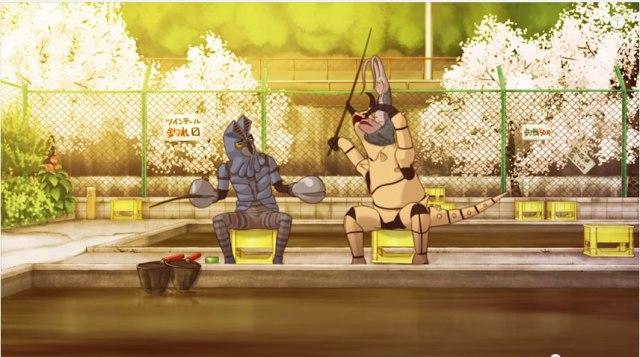 【無料速報】ヌルヌル動くバルタン星人が色っぽい! 『Peeping Life』×『怪獣酒場』のコラボアニメが YouTube で公開されてるぞーッ!!