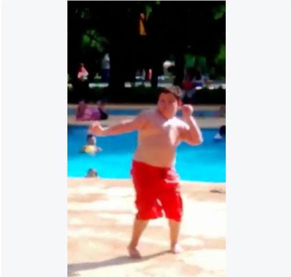 【動画】これが即興だって!? ポッチャリ男子のキレキレダンスがカッコよすぎて皆の視線を独り占め!! 再生回数590万回超の大ヒットに