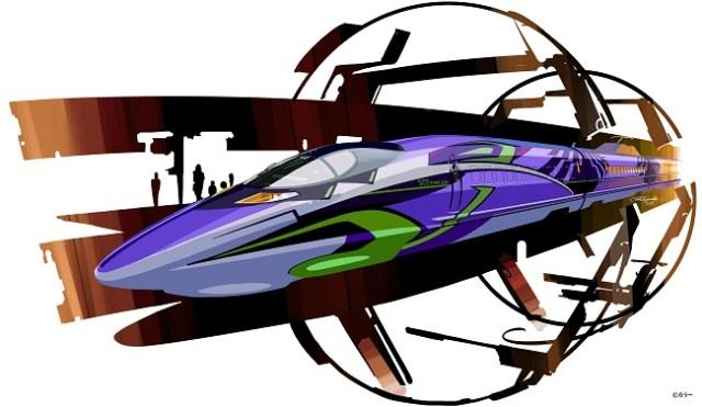 【カッコよすぎ】今秋 新幹線がエヴァンゲリオン仕様に! 山陽新幹線「こだま」で運行開始だぞ~っ / ネットの声「アナウンスはミサトさんで!!」