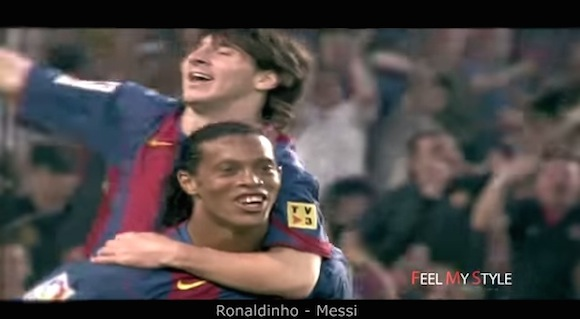 【動画】サッカー界の「ゴールデンコンビ」が見せた時を止めるほどのスーパープレイ集