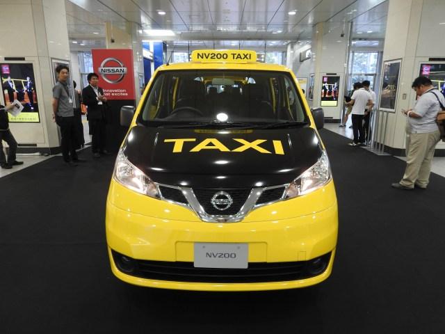 【激得情報】日産が世界に認められた「グローバルタクシー」の初乗り乗車券を配布中!