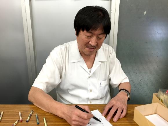 【感激】つるピカハゲ丸の「のむらしんぼ」先生に似顔絵を描いてもらったらこうなった