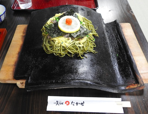 【ご当地グルメ】錦戸亮さんや里見浩太朗さんが来店した元祖「瓦そば」を食べてみた / 山口県下関市『たかせ』