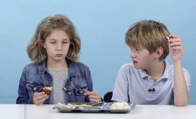 アメリカの子供達に世界の学校給食を食べさせたらこうなった!! 日本の給食へのコメント「箸が使えないの」「こんなの絶対に食べない!」