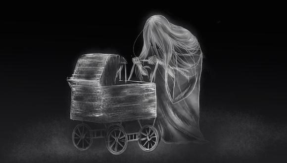 【心霊コラム】深夜の山中で乳母車を押す老婆に出会った話