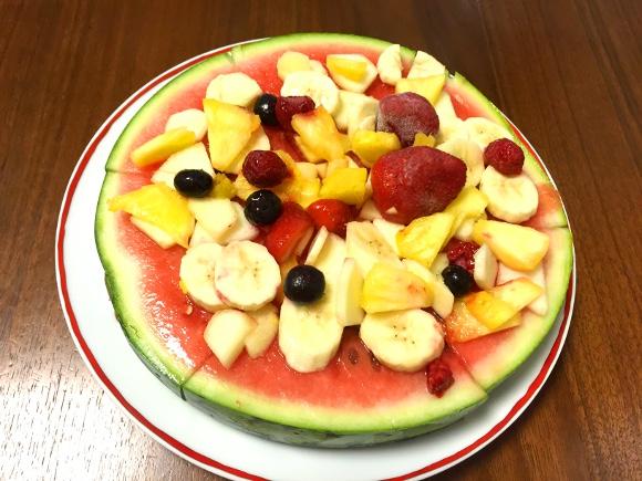 【天才レシピ】新提案! 夏はみんなで「すいかピザ」しようぜ!!