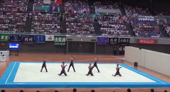 【動画あり】鹿児島実業高校の新体操部が見ているだけで楽しくなる「ようかい新体操」で観客を魅了