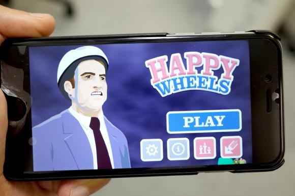 【グロすぎ】App Store人気ランキング2位!『HAPPY WHEELS』が残酷すぎて全然ハッピーじゃない!!