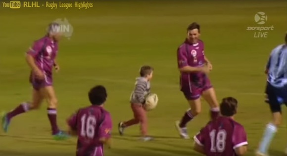 【メチャカワ動画】キュンキュン不可避! 海外のラグビーでかつてないほどキュートなトライが誕生!!
