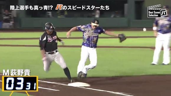 【衝撃野球動画】打ってから一塁に到達するまでが速いパ・リーグ選手ベスト12